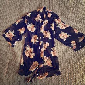 H&M Kimono. Or you can use as a robe